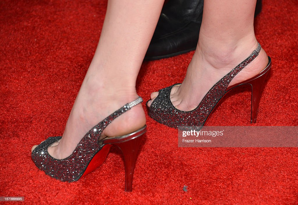 Actress Anna Kendrick (detail) arrives at 'Trevor Live' honoring Katy Perry and Audi of America for The Trevor Project held at The Hollywood Palladium on December 2, 2012 in Los Angeles, California.