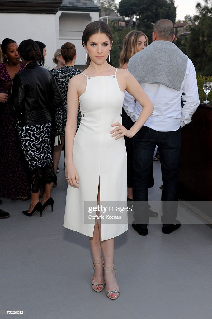 Actress Anna Kendrick attends a dinner to celebrate Glamour's June Success Issue, hosted by Glamour Editor-in-Chief Cindi Leive & Maiyet Co-Founder Kristy Caylor at Chateau Marmont on May 29, 2015 in Los Angeles, California.