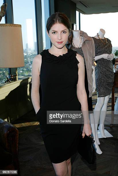 Actress Anna Kendrick attends Ann Taylor's Exclusive Fall 2010 Collection Preview at Soho House on May 13 2010 in West Hollywood California