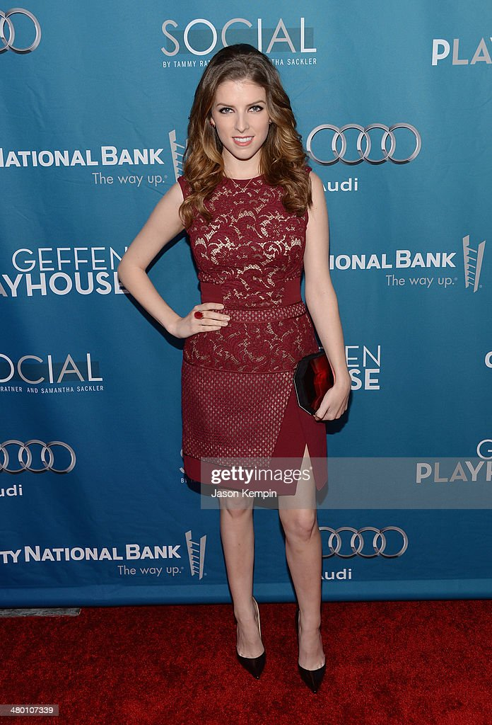 Actress <a gi-track='captionPersonalityLinkClicked' href=/galleries/search?phrase=Anna+Kendrick&family=editorial&specificpeople=3244893 ng-click='$event.stopPropagation()'>Anna Kendrick</a> attends Geffen Playhouse's Annual 'Backstage At The Geffen' Gala at Geffen Playhouse on March 22, 2014 in Los Angeles, California.