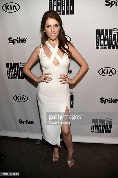 Actress Anna Kendrick attends Spike TV's 10th Annual Guys Choice Awards at Sony Pictures Studios on June 4 2016 in Culver City California