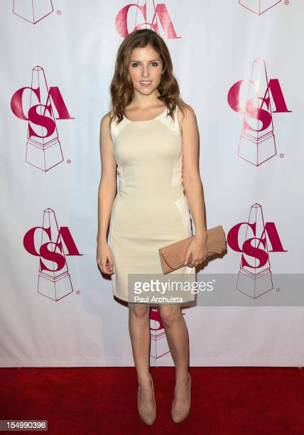 Actress Anna Kendrick attends the 2012 Artois Awards at The Beverly Hilton Hotel on October 29 2012 in Beverly Hills California