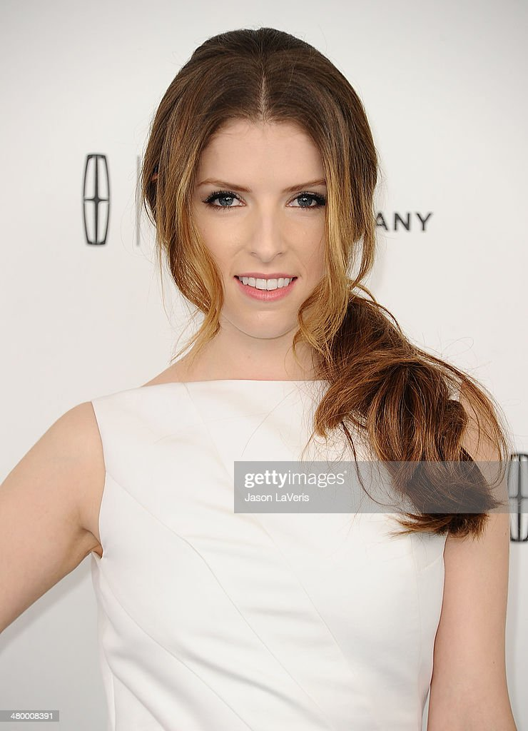 Actress <a gi-track='captionPersonalityLinkClicked' href=/galleries/search?phrase=Anna+Kendrick&family=editorial&specificpeople=3244893 ng-click='$event.stopPropagation()'>Anna Kendrick</a> attends the 2014 Film Independent Spirit Awards on March 1, 2014 in Santa Monica, California.