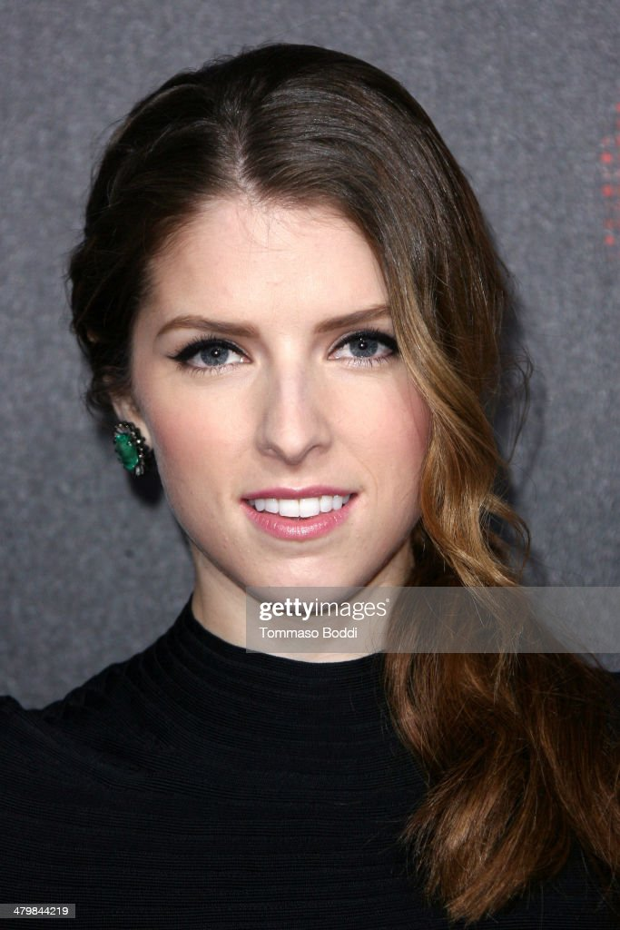 Actress Anna Kendrick attends the 2nd annual Rebel With a Cause Gala held at the Paramount Studios on March 20, 2014 in Hollywood, California.