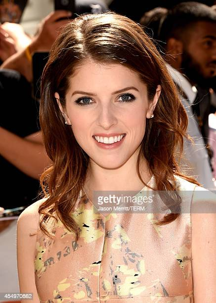 Actress Anna Kendrick attends the 'Cake' premiere during the 2014 Toronto International Film Festival at The Elgin on September 8 2014 in Toronto...