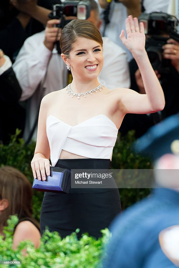 Actress Anna Kendrick attends the 'Charles James: Beyond Fashion' Costume Institute Gala at the Metropolitan Museum of Art on May 5, 2014 in New York City.