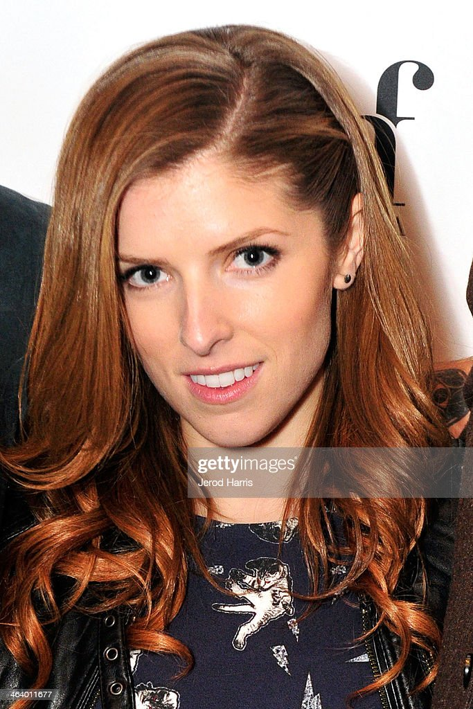 Actress Anna Kendrick attends the 'Happy Christmas' Premiere Party - 2014 Park City on January 19, 2014 in Park City, Utah.