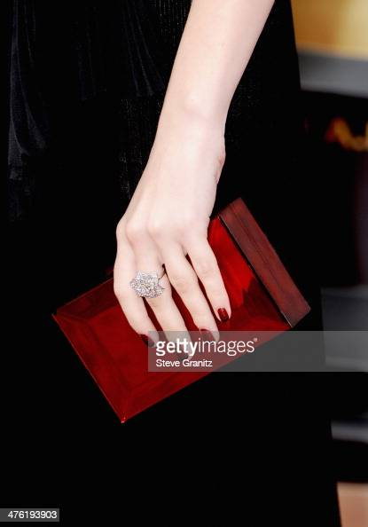 Actress Anna Kendrick attends the Oscars held at Hollywood Highland Center on March 2 2014 in Hollywood California