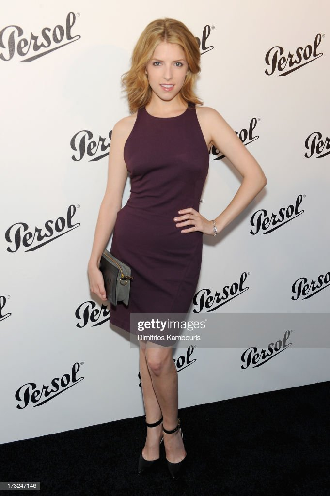 Actress <a gi-track='captionPersonalityLinkClicked' href=/galleries/search?phrase=Anna+Kendrick&family=editorial&specificpeople=3244893 ng-click='$event.stopPropagation()'>Anna Kendrick</a> attends the Persol Magnificent Obsessions event honoring Julie Weiss and Jeannine Oppewall at the MMI on July 10, 2013 in New York City.