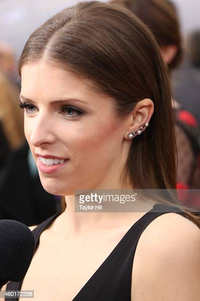 Actress Anna Kendrick attends the world premiere of Disney's 'Into the Woods' at Ziegfeld Theater on December 8 2014 in New York City