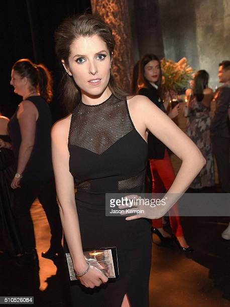 Actress Anna Kendrick attends Universal Music Group 2016 Grammy After Party presented by American Airlines and Citi at The Theatre at Ace Hotel...