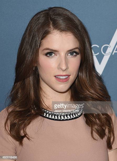 Actress Anna Kendrick attends Variety's Power Of Women Luncheon at the Beverly Wilshire Four Seasons Hotel on October 9 2015 in Beverly Hills...