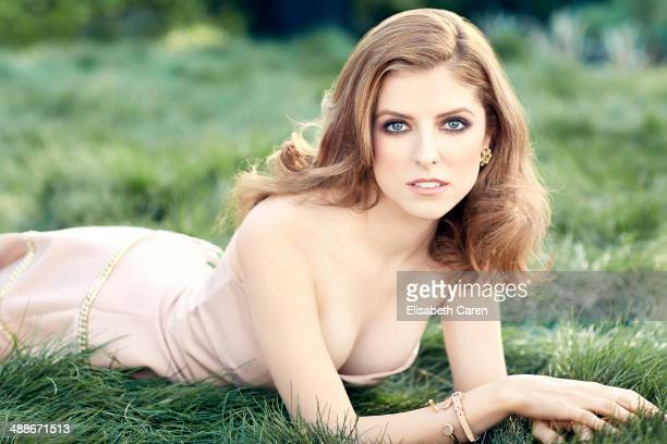 Actress Anna Kendrick is photographed for Self Assignment on March 23 2013 in Los Angeles California