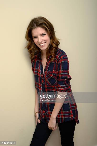 Actress Anna Kenrick poses for a portrait during the 2014 Sundance Film Festival at the Getty Images Portrait Studio at the Village At The Lift...