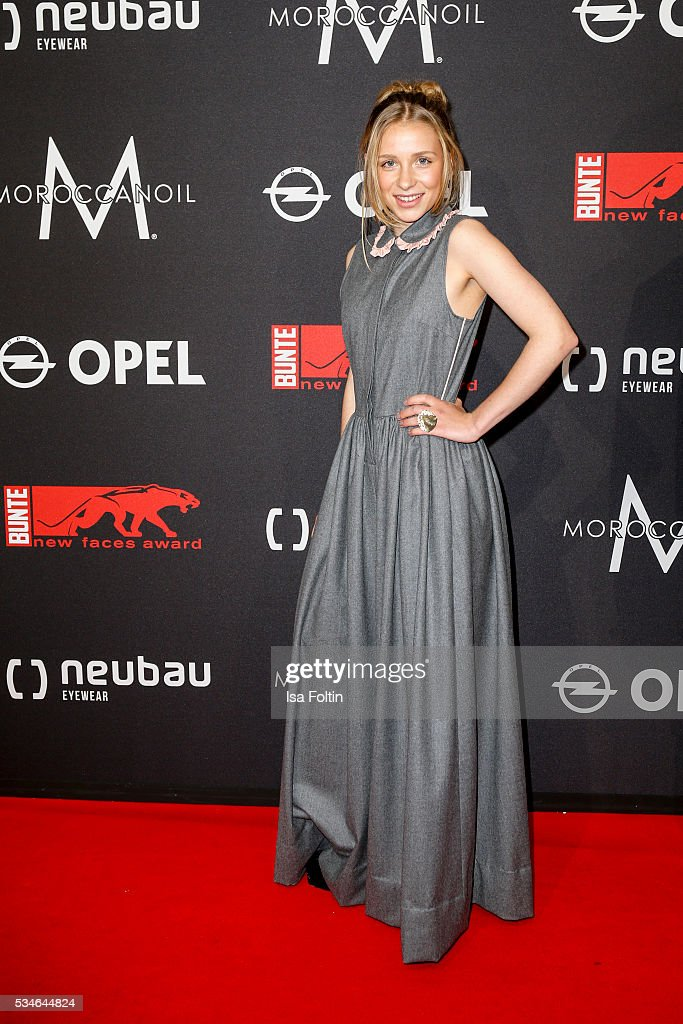 Actress Anna Lena Klenke attends the New Faces Award Film 2016 at ewerk on May 26, 2016 in Berlin, Germany.