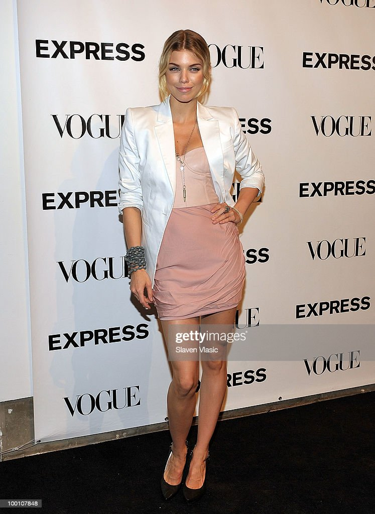 Actress Anna Lynne McCord attends the EXPRESS 30th anniversary party at Eyebeam on May 20, 2010 in New York City.