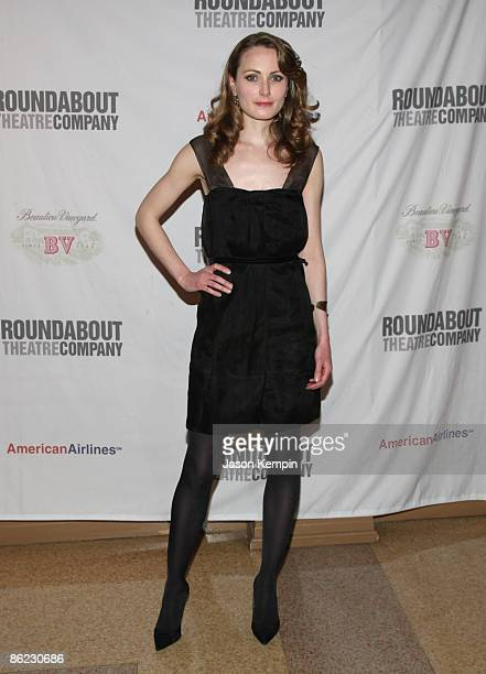 Actress Anna Madeley attends 'The Philanthropist' Broadway opening night party at the Roundabout Theatre Company's American Airlines Theatre on April...