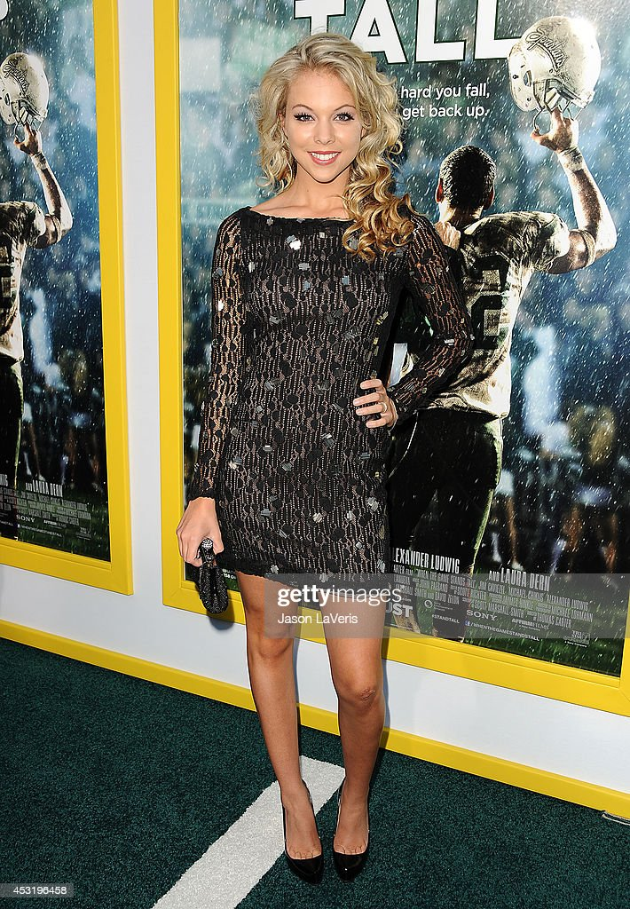Actress Anna Margaret attends the premiere of 'When The Game Stands Tall' at ArcLight Hollywood on August 4, 2014 in Hollywood, California.