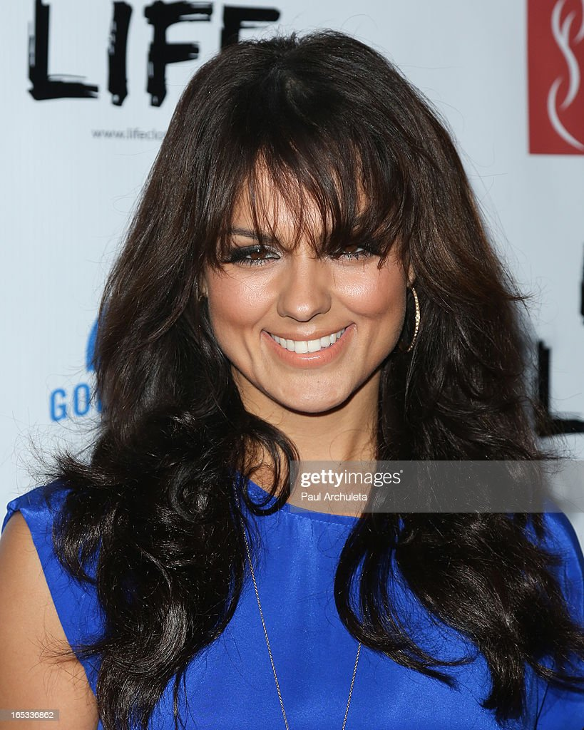 Actress Anna Maria Demara attends the No Kill LA charity event at Fred Segal on April 2, 2013 in West Hollywood, California.