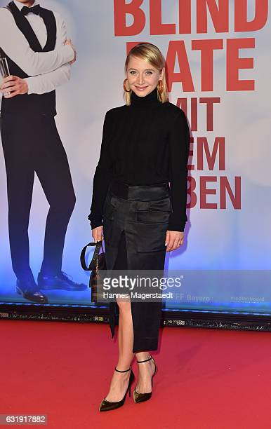 Actress Anna Maria Muehe during the 'Mein Blind Date mit dem Leben' Munich Premiere at Mathaeser Filmpalast on January 17 2017 in Munich Germany