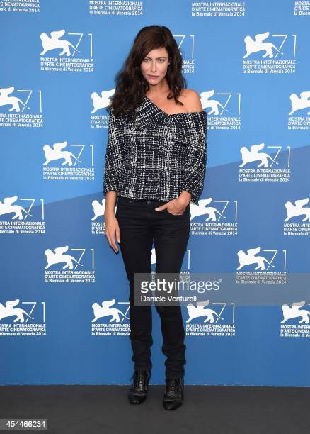 Actress Anna Mouglalis attends 'Il Giovane Favoloso' Photocall during the 71st Venice Film Festival at Palazzo Del Casino on September 1 2014 in...