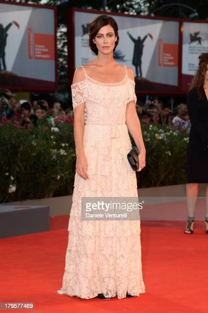 Actress Anna Mouglalis attends 'La Jalousie' Premiere during the 70th Venice International Film Festival at the Sala Grande on September 5 2013 in...