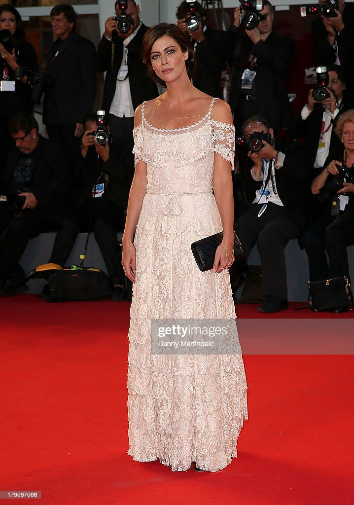 Actress Anna Mouglalis attends 'La Jalousie' Premiere during the 70th Venice International Film Festival at the Sala Grande on September 5, 2013 in Venice, Italy.