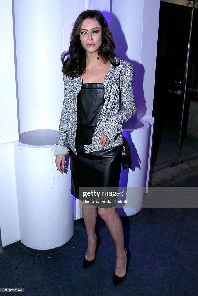 Actress <a gi-track='captionPersonalityLinkClicked' href=/galleries/search?phrase=Anna+Mouglalis&family=editorial&specificpeople=611934 ng-click='$event.stopPropagation()'>Anna Mouglalis</a> attends the Annual Charity Dinner hosted by the AEM Association Children of the World for Rwanda. Held at Espace Cardin on December 16, 2015 in Paris, France.