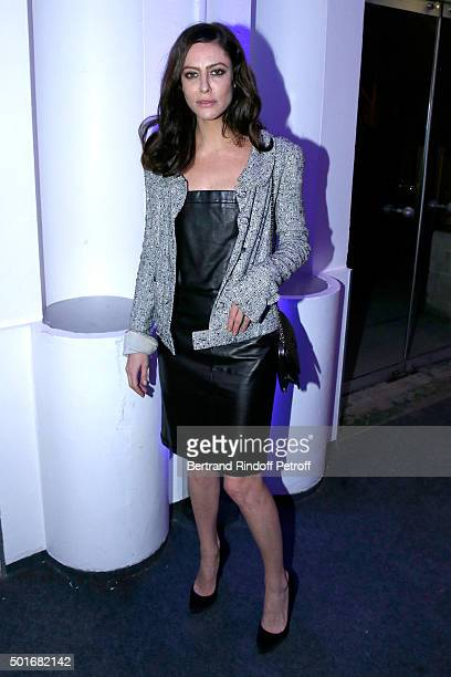 Actress Anna Mouglalis attends the Annual Charity Dinner hosted by the AEM Association Children of the World for Rwanda Held at Espace Cardin on...
