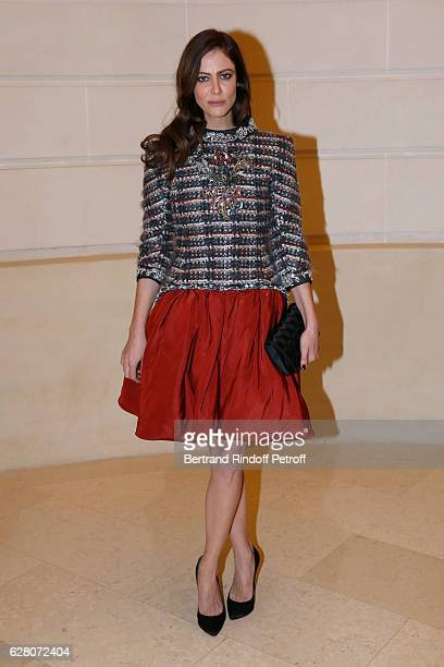 Actress Anna Mouglalis attends the 'Chanel Collection des Metiers d'Art 2016/17 Paris Cosmopolite' Photocall at Hotel Ritz on December 6 2016 in...