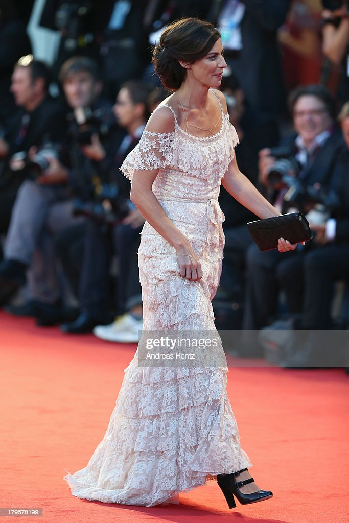Actress Anna Mouglalis attends the 'Jealousy' Premiere during the 70th Venice International Film Festival at the Palazzo del Cinema on September 5, 2013 in Venice, Italy.