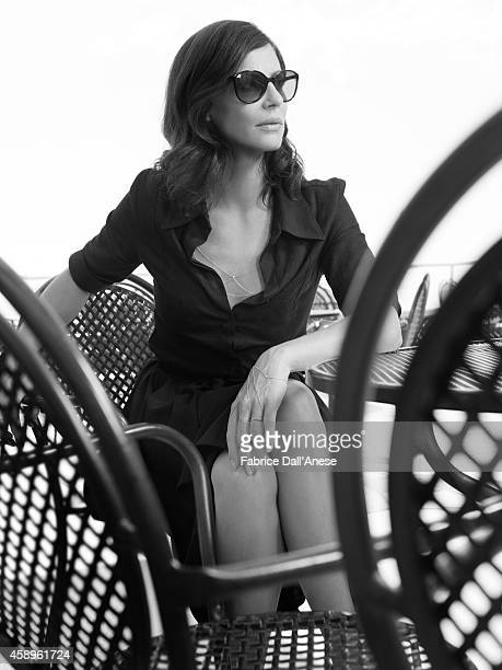Actress Anna Mouglalis is photographed for Vanity Fair Italy on September 1 2013 in Venice Italy