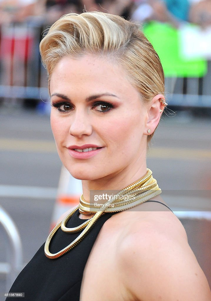 Actress Anna Paquin arrives at HBO's 'True Blood' Final Season Premiere on June 17 2014 at TCL Chinese Theatre in Hollywood California