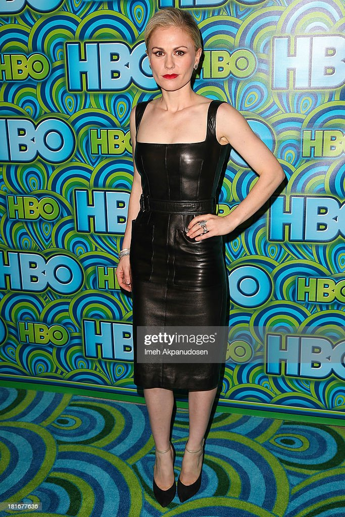 Actress Anna Paquin attends HBO's Annual Primetime Emmy Awards Post Award Reception at The Plaza at the Pacific Design Center on September 22, 2013 in Los Angeles, California.