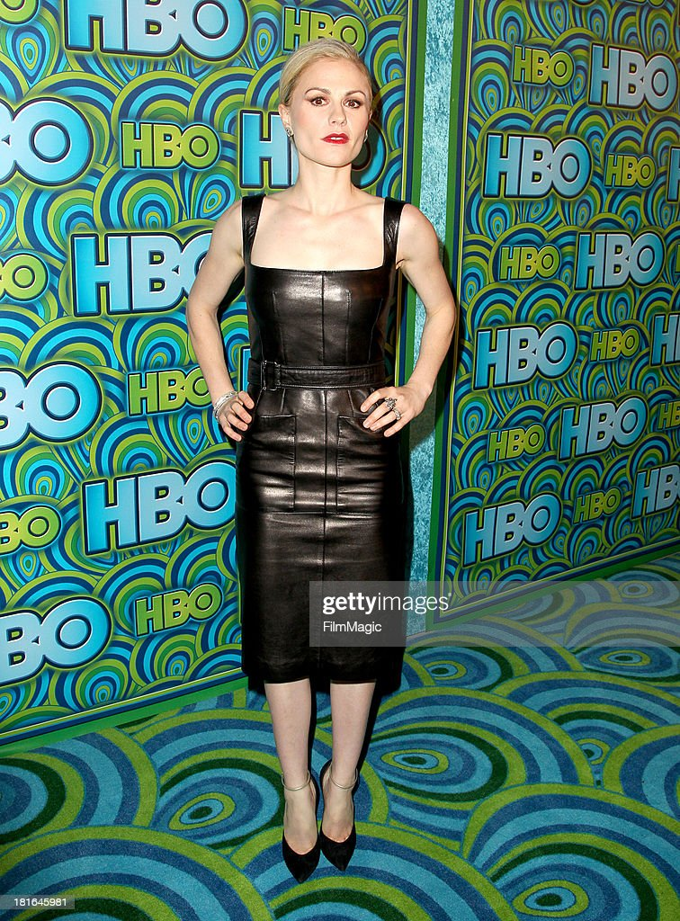Actress Anna Paquin attends HBO's official Emmy after party at The Plaza at the Pacific Design Center on September 22, 2013 in Los Angeles, California.