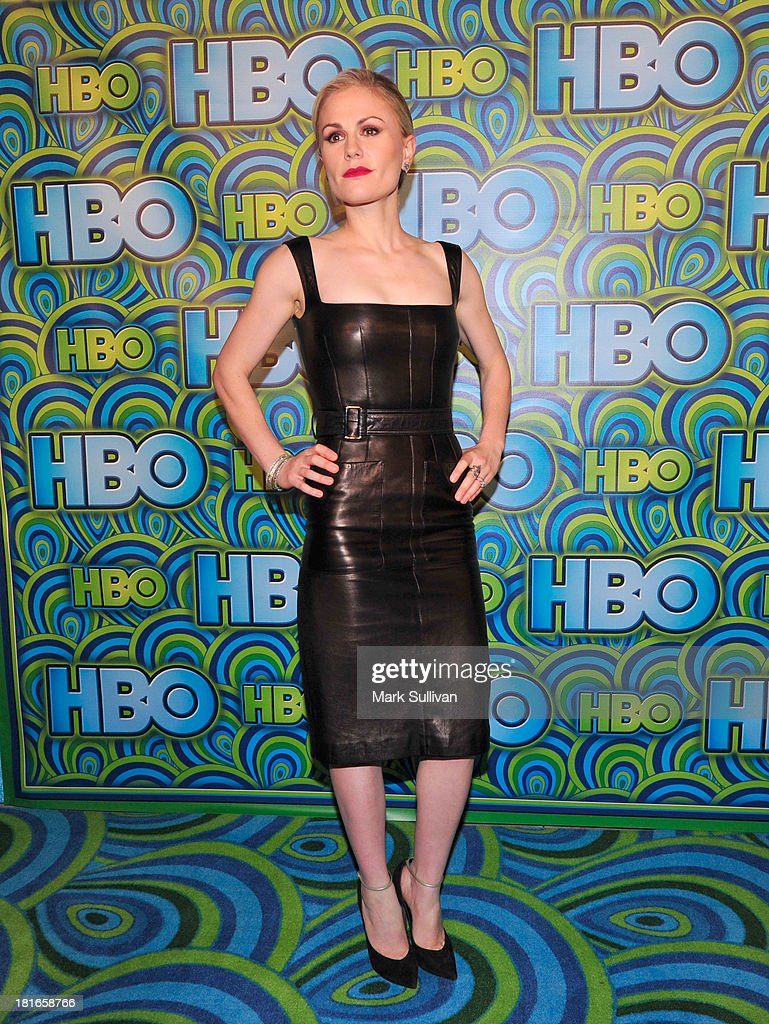 Actress Anna Paquin attends HBO's Post Emmy Awards party at Pacific Design Center on September 22, 2013 in West Hollywood, California.