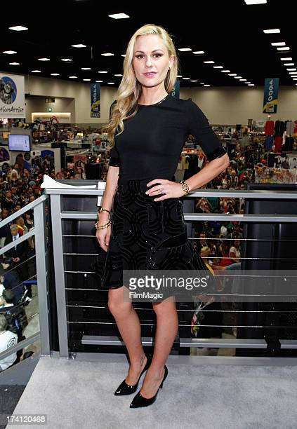 Actress Anna Paquin attends HBO's 'True Blood' Cast Autograph Signing at San Diego Convention Center on July 20 2013 in San Diego California