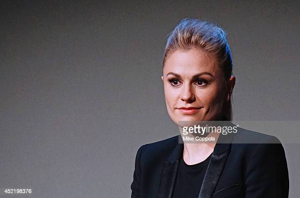 Actress Anna Paquin attends 'Meet The Cast' on July 15 2014 in New York United States