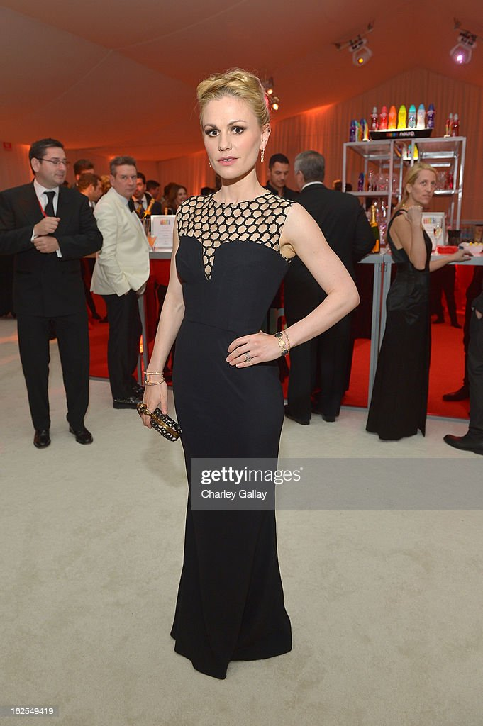 Actress Anna Paquin attends Neuro at 21st Annual Elton John AIDS Foundation Academy Awards Viewing Party at West Hollywood Park on February 24, 2013 in West Hollywood, California.