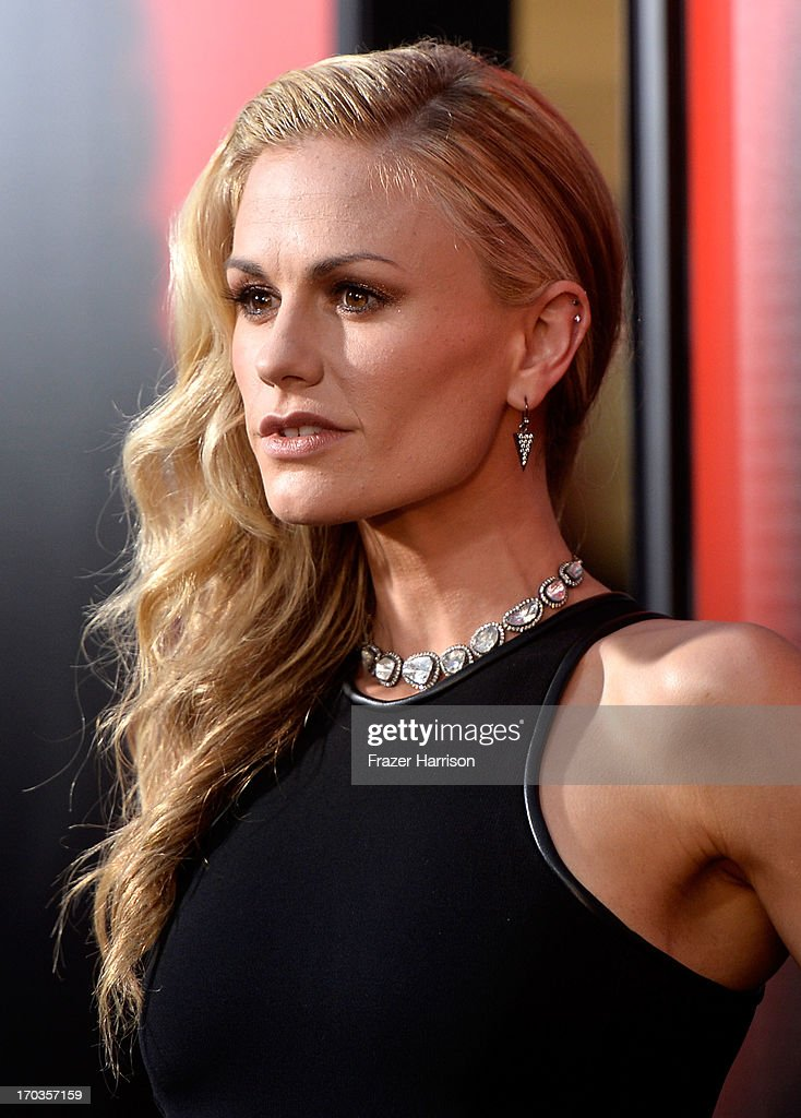 Actress Anna Paquin attends the premiere of HBO's 'True Blood' Season 6 at ArcLight Cinemas Cinerama Dome on June 11, 2013 in Hollywood, California.