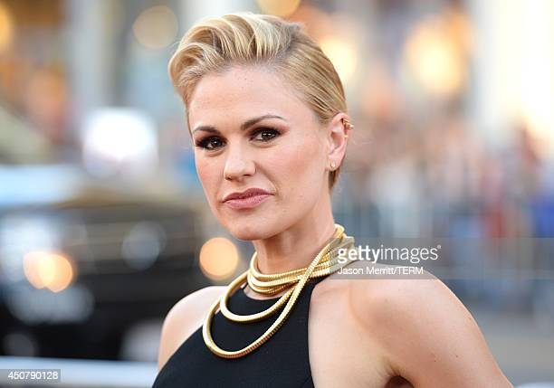 Actress Anna Paquin attends the premiere of HBO's 'True Blood' season 7 and final season at TCL Chinese Theatre on June 17 2014 in Hollywood...