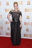 Actress Anna Paquin attends the 'Roots' night one screening at Alice Tully Hall Lincoln Center on May 23 2016 in New York City
