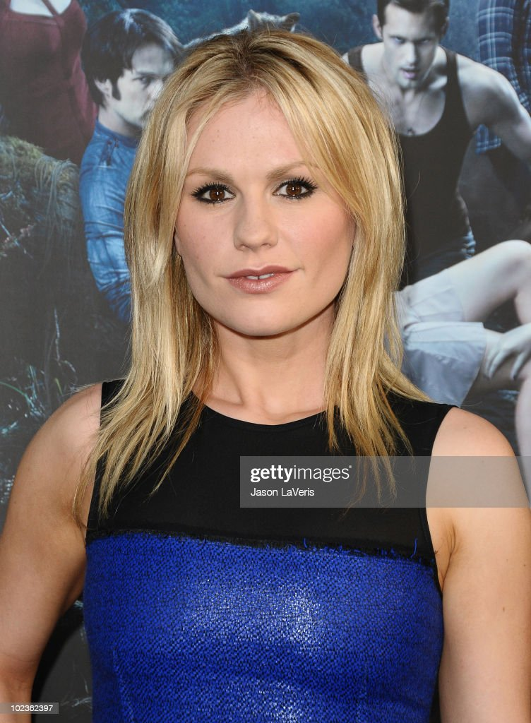 Actress Anna Paquin attends the third season premiere of HBO's 'True Blood' at ArcLight Cinemas Cinerama Dome on June 8, 2010 in Hollywood, California.