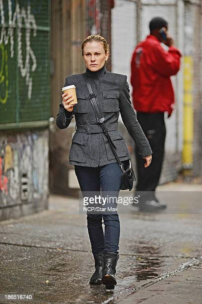 Actress Anna Paquin is seen on October 31 2013 in New York City