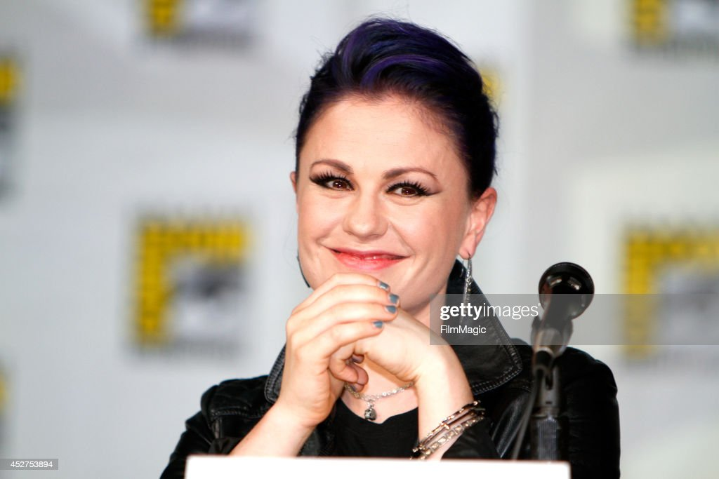Actress Anna Paquin speaks onstage at HBO's 'True Blood' panel during ComicCon 2014 on July 26 2014 in San Diego California