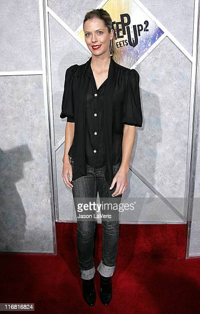 Actress Anna Rawson attends 'Step Up 2 The Streets' World Premiere at ArcLight Cinemas on February 4 2008 in Hollywood California