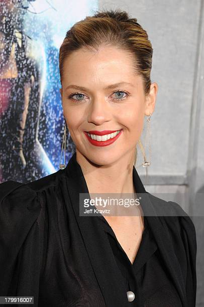 Actress Anna Rawson attends Touchstone Pictures' and Summit Entertainment's world premiere of Step Up 2 The Streets at the Arclight Theatre on...