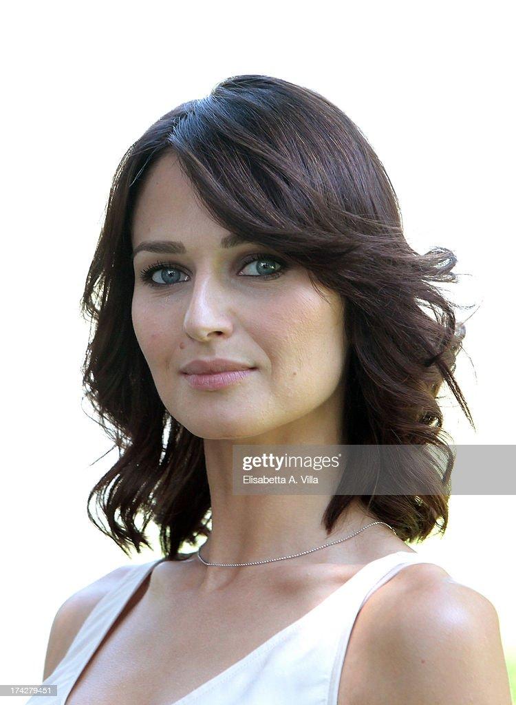 Actress Anna Safroncik attends 'La Tre Rose Di Eva 2' photocall at Mediaset Studios on July 23, 2013 in Rome, Italy.