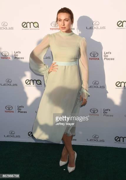 Actress Anna Schafer arrives at the 27th Annual EMA Awards at Barker Hangar on September 23 2017 in Santa Monica California