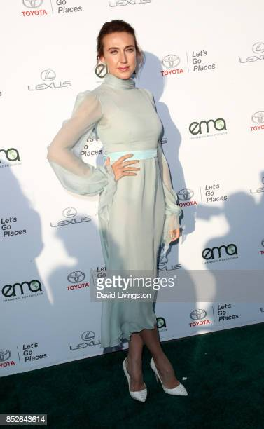 Actress Anna Schafer attends the 27th Annual EMA Awards at Barker Hangar on September 23 2017 in Santa Monica California